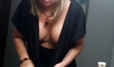 Lola Fay con capezzoli in il Shape di cuore dà Nero Partner in point film erotico free